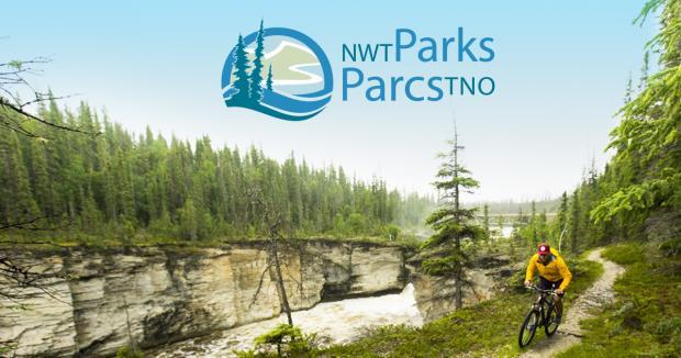 Northwest Territories Parks Logo Biking Canyon