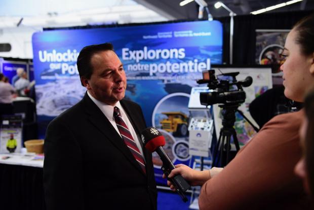 Wally Schumann CBC Interview at Roundup
