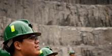 Mine Workers on Jobsite
