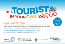 Be a Tourist in Your Own Town Advertisement