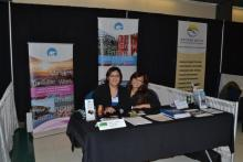 Beaufort Delta Economic Development Officers At Tradeshow in Inuvik