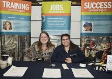 Mine Training Society Booth at the 2018 Yellowknife Geoscience Forum