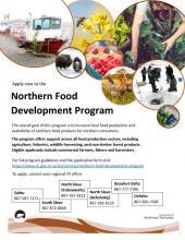 Northern Food Development Program Poster