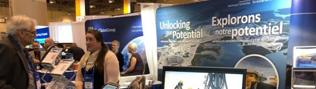GNWT at PDAC 2019 Unlocking our Potential Booth