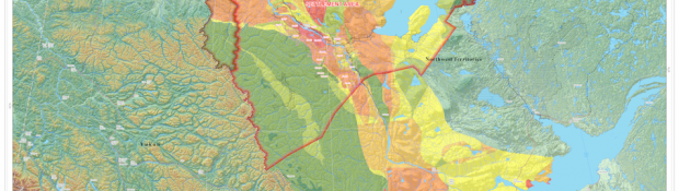 NWT Hydrocarbon Potential Map Preview