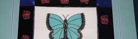 Traditional Butterfly Embroidery