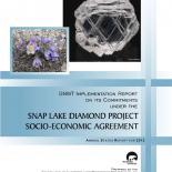 2012 Snap Lake Implementation Report