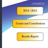 Grants & Contributions Programs Results Report 2012/13