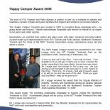 Happy Camper Award 2008