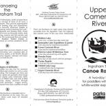 Ingraham Trail Canoe Routes - Lower Cameron River