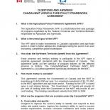 FAQ for the Canada-Northwest Territories Agricultural Policy Framework Program