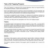 Take a Kid Trapping Program
