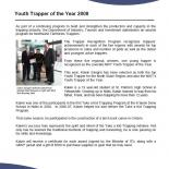 Youth Trapper of the Year 2008