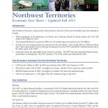 NWT Economic Fact Sheet (October 2011)