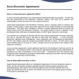 Socio-Economic Agreements