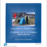 NWT Community Futures Program 2012-13 Annual Report