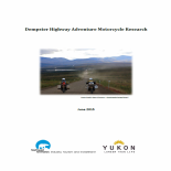 Dempster Highway Adventure Motorcycle Research 2015