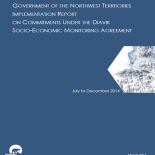 GNWT Implementation Report on Commitments Under the Diavik Socio-Economic Monitoring Agreement 2014