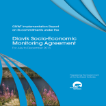 Diavik Socio-Economic Agreement - December 2013 Report