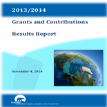 Grants and Contributions Report 2013-2014