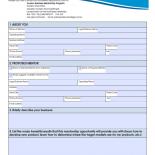 Tourism Business Mentorship Program - Mentee Information