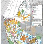 NWT Oil and Gas Dispositions Map