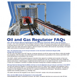 Oil and Gas Regulator FAQ