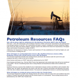 Petroleum FAQ