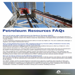 Petroleum Resources FAQ