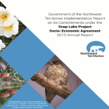Snap Lake Project - Socio-Economic Agreement 2013 Report