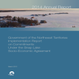 GNWT Implementation Report on Commitments Under the Snap Lake Socio-Economic Agreement